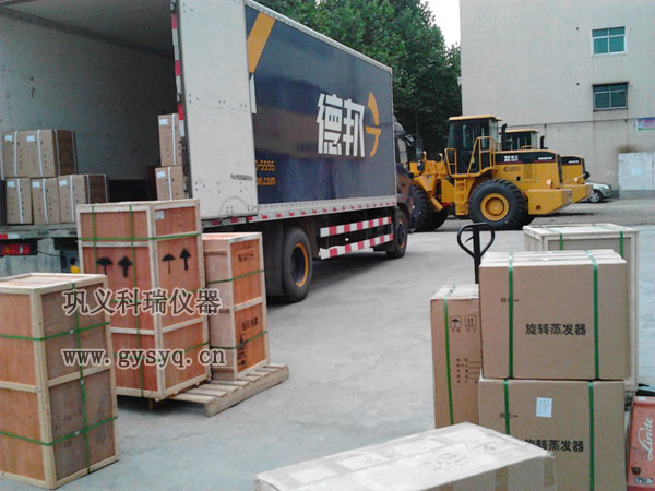 科瑞超低温恒温槽德邦物流728发货现场